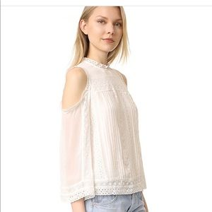 Alice + Olivia Ophelia Embroidered blouse-NWOT